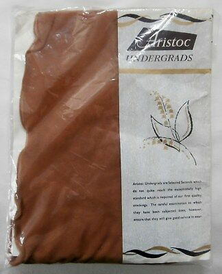 BNIP Vintage 1960's Aristoc Lansdowne Fully Fashioned Seamed Stockings Sz 8 1/2