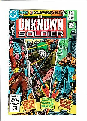 """Unknown Soldier #254  [1981 Vf-Nm]  """"death On The Yang-Tze River!"""""""