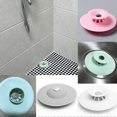 Rubber Ultimate Drain Plug Kitchen Bath Laundry Floor Tub Sink Water Stopper D30