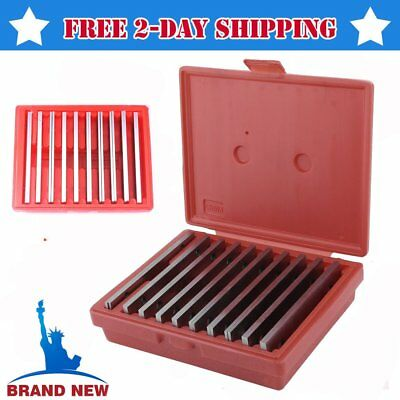 "20 pc THIN PARALLEL 1/8"" x 6"" JIG BLOCK BAR TOOL SET MACHINIST MACHINE SHOP X5"