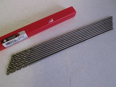 """Lot of 9 Cleveland 11/64"""" HSS 12"""" Extension Drill Bits NEW"""