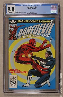 Daredevil (1st Series) #183 1982 CGC 9.8 1568542020