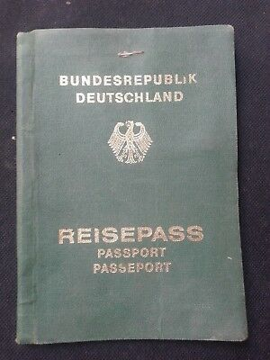 1982 Germany Deutschland Expired Complete Passport L@@k