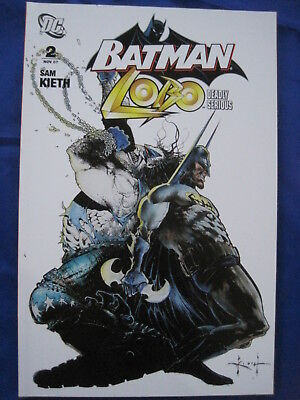 BATMAN, LOBO :DEADLY SERIOUS issue 2 of 2 ISSUE DC 2007 PRESTIGE SQ BOUND SERIES