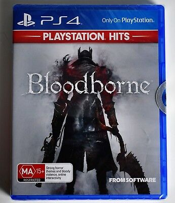 Bloodborne (PlayStation Hits) Game PlayStation 4 PS4 Game Brand New Sealed
