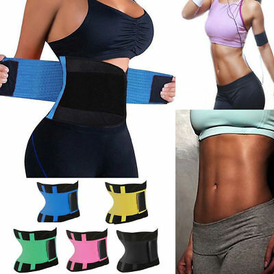 Workout Sport Shaper Waist Cincher Trainer Body Girdle Corset Gym belt Women