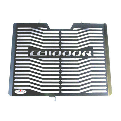 Honda CB1000R (08-17) Black Stainless Steel Radiator Guard Grill Beowulf H020PCB