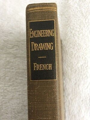 A Manual Engineering Drawing: For Students and Draftsmen FRENCH 1935