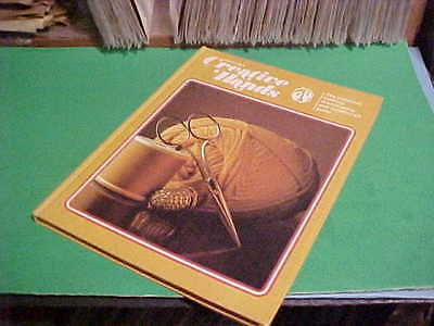 1975 Greystone's Creative Hands Book Knitting Dressmaking & Needlecraft Guide