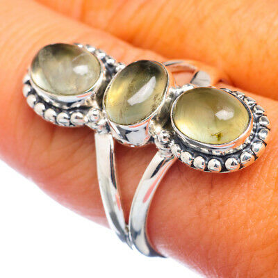 Prehnite 925 Sterling Silver Ring Size 9 Ana Co Jewelry R905740F