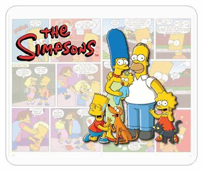 The Simpsons Mouse Pad. Comic Strip Logo......free Shipping
