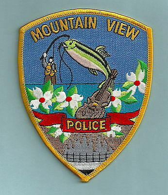 Mountain View Arkansas Police Patch Fish!