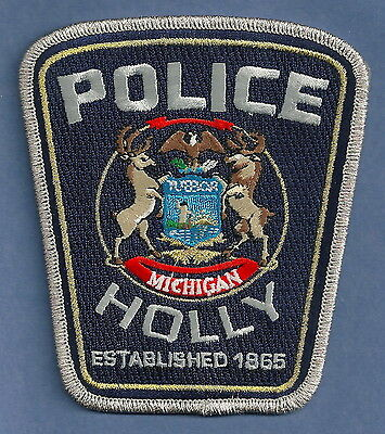 Holly Michigan Police Patch