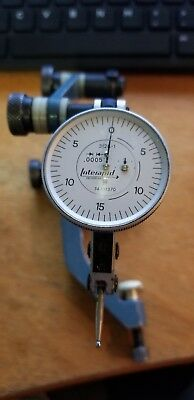 "INTERAPID Dial Indicator # 312B-1 .0005"" smooth movement with holder bracket"