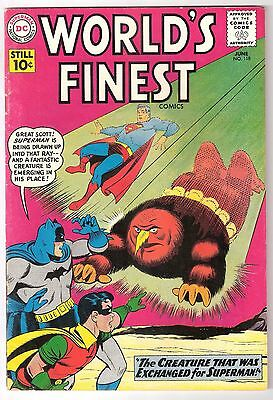 World's Finest #118, 1961 Dc, Fn+ Condition
