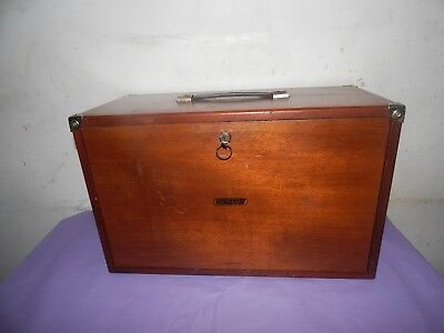 Vintage Union 5 Drawer Engineers Wooden Tool Chest,Cabinet.