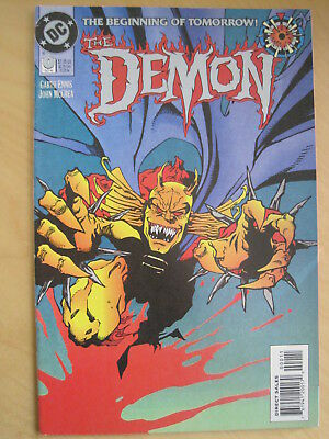 The DEMON :  issue 0 ( ZERO ) by GARTH ENNIS & John McCREA. DC, 1994