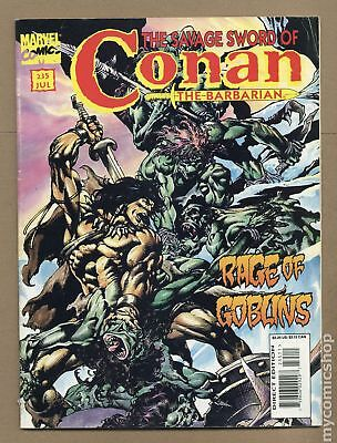 Savage Sword of Conan (Magazine) #235 1995 VG+ 4.5