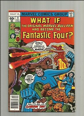 What If #11 FN 1978 original Marvel bullpen had become FF ND Kirby Marvel comics
