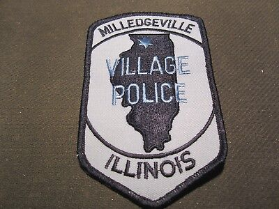Milledgeville  Il Police Patch