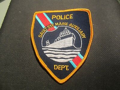 Sault Ste Marie Auxiliary  Police Patch