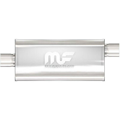 Magnaflow 12229 5'' x 8'' Oval Muffler Offset In/Center Out: 3'' Body Length: 14