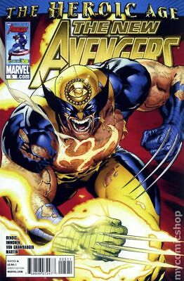 New Avengers (2nd Series) #5A 2010 FN Stock Image