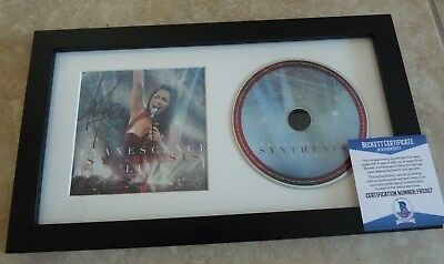 Amy Lee Evanescence Signed Autographed Framed CD Display Beckett Certified