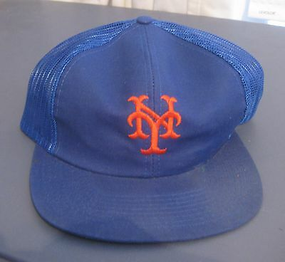 1fff3fc956a07 Vintage New York Mets Snapback Cap hat Mlb New With Tag Twins Enterprises