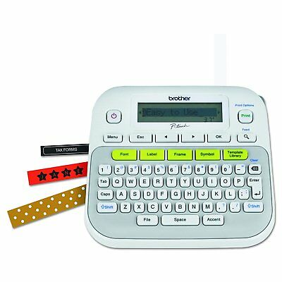 Brother Pt-D210 P-Touch Electronic Labeling System Label Maker Brand New!