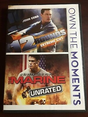 12 Rounds (DVD, 2012, 2-Disc Set, Extreme Cut/The Marine Unrated)