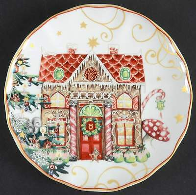 Williams Sonoma TWAS THE NIGHT BEFORE CHRISTMAS Gingerbread House Plate 10495726
