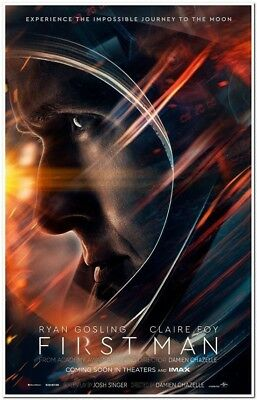 First Man 27 x 40 Original D/S double-sided MOVIE POSTER - Style A - 2018