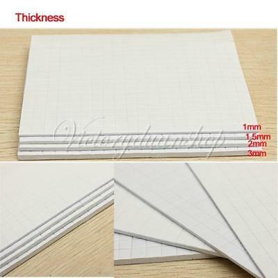 400PCS Self Adhesive Double Sided Foam Pads Sticky Fixer 3D Effect 1.5mm DIY