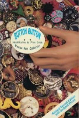 Button Buttons book Vintage Victorian Brass Gold