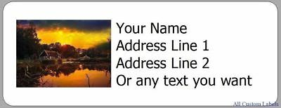 your photo return address labels custom personalized 5 00 picclick
