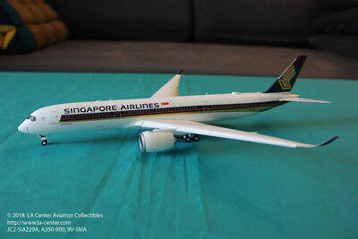 JC Wing Singapore Airlines Airbus A350-900 Flaps Down Diecast Model 1:200