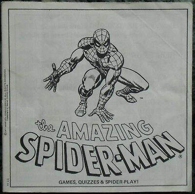 3 View-Master 3D Bildscheiben - The Amazing Spider-Man + Booklet