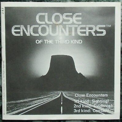 3 View-Master 3D Bildscheiben - Close Encounters Of The Third Kind + Booklet