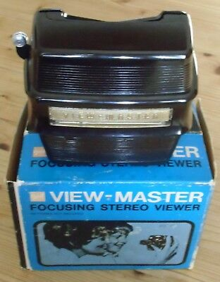 View-Master 3D Bildbetrachter - Model D - Stereo Focusing Lighted Viewer +Karton