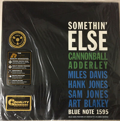Cannonball Adderley Somethin' Else Analogue Productions Ap-81595