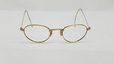 American Optical AO 1/10 12K GF Gold Vintage Wire Frames