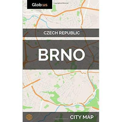 Brno, Czech Republic - City Map Bates, Jason Patrick