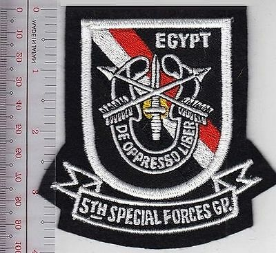 US Army 5th Special Forces Task Force 1 CCN COMMO TF1A Uniform patch Aufnäher Airsoft