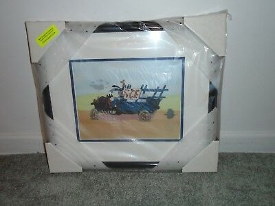 Disney Limited Edition Sericel Goofy Moving Day Framed New With COA
