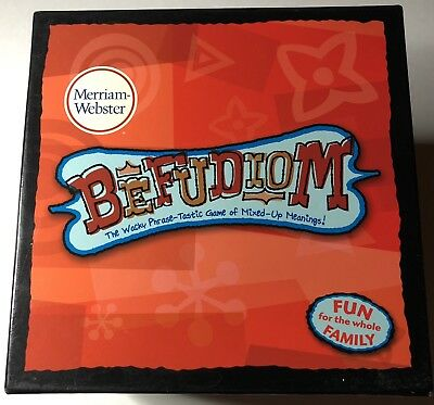 Merriam-Webster Befudiom The Wacky Phrase Tastic Game of Mixed Up Meanings!