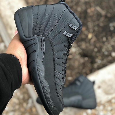 Nike Air Jordan 12 Retro WNTR Winterized XII Black Men   Women GS Kids Pick  1 768e4ac7d7d