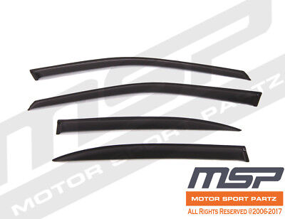 Ash Grey Outside Mount JDM Vent Visor Deflector 2pcs For Volkswagen Beetle 98-10