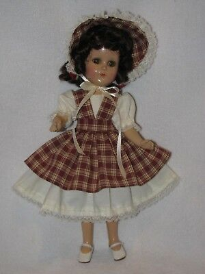 """14"""" Vintage Arranbee /R&B Composition Doll Redressed"""