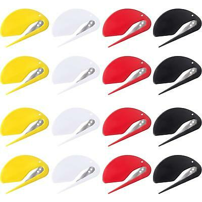 Letter Opener Plastic Razor Blade Paper Knife Envelope Slitter Set Supplies Kit